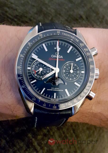 Omega Speedmaster Moonphase Co-Axial Master Chronometer Chronograph