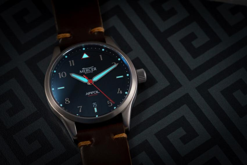 Mercer Watch Co. Airfoil Automatic