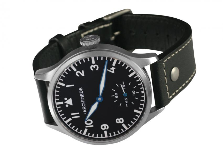 Archimede Pilot 42 KS Handwound (Price without VAT €571.43)