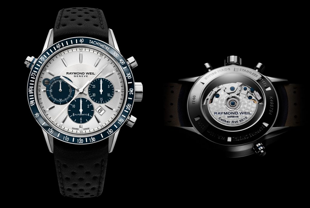 Raymond Weil Freelancer chronograph copy watch