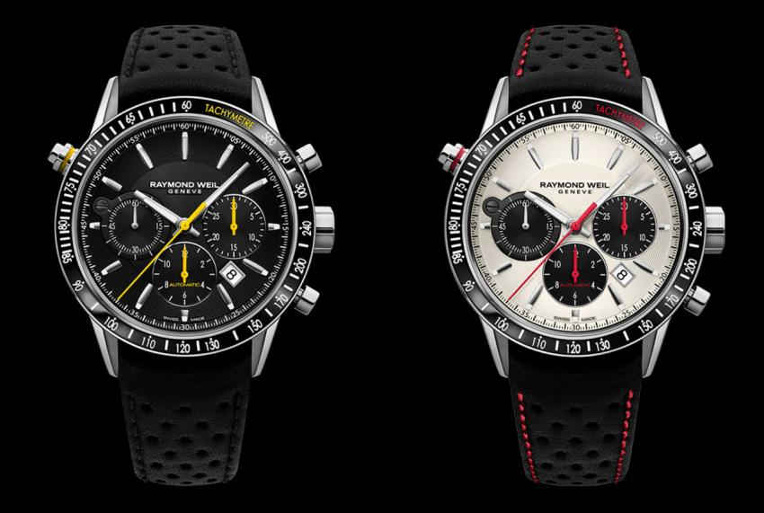 The other two models of the Freelancer chronograph collection