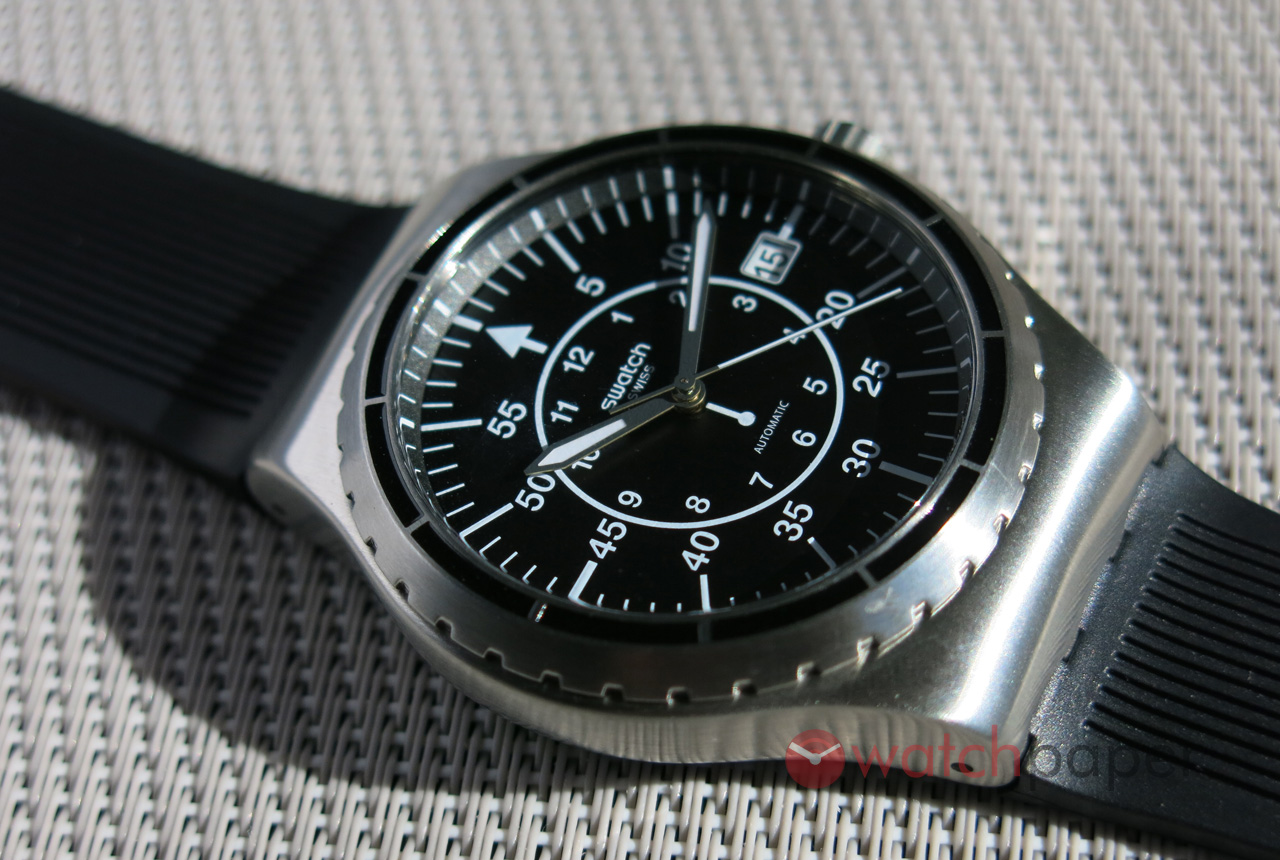Swatch SISTEM51 IRONY hands-on review