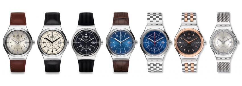 The Swatch Sistem51 Irony collection