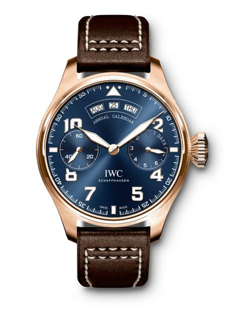 "The unique IWC Pilot's Watch Annual Calendar Edition ""Le Petit Prince"""