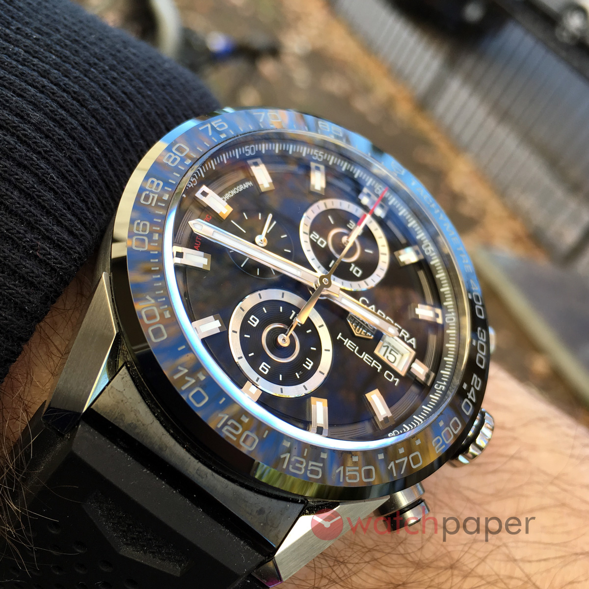 dd978b38a4e4 Hands-on review of the 43mm TAG Heuer Carrera Calibre Heuer 01 ...