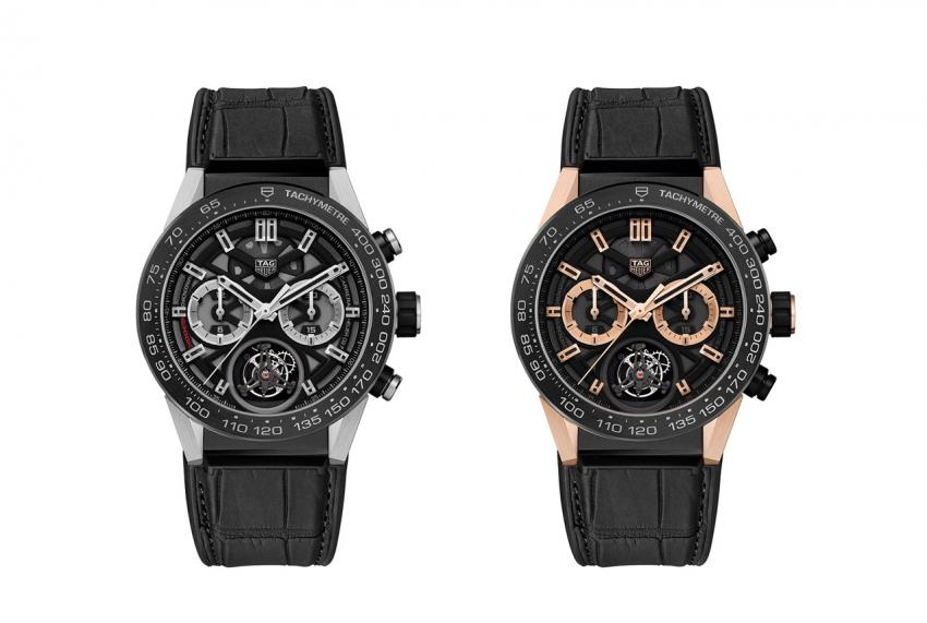 TAG Heuer CARRERA Heuer-02T Ref. CAR5A8Y.FC6377 and CAR5A5Y.FC6377