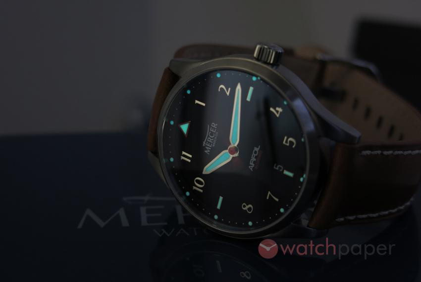 Mercer Watch Co. Airfoil