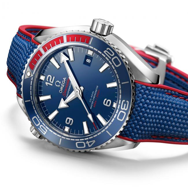 "Omega Seamaster Planet Ocean ""PyeongChang 2018"" copy watch"