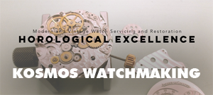 Kosmos Watchmaking is a Toronto based watch servicing workshop