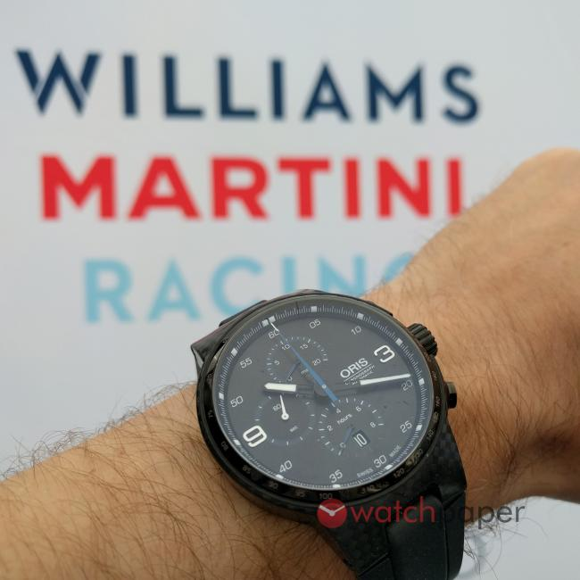 Oris Williams Carbon Fibre Extreme Chronograph