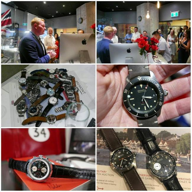 Bremont watches launch party at Roldorf+Co