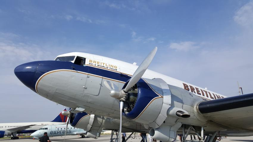 The Breitling DC-3 in Toronto