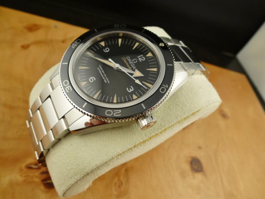 Omega Seamaster 300 Master Co-Axial 41mm Stainless Steel / Black Dial