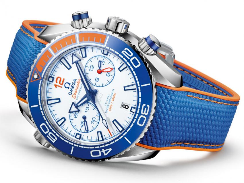 "Omega Seamaster Planet Ocean Chronograph ""Michael Phelps"""