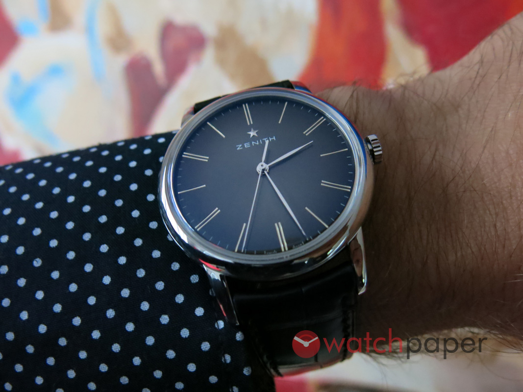 zenith elite classic 39 � handson and upclose watchpaper