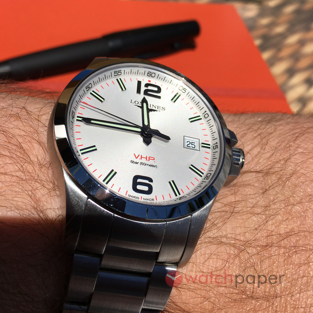 55bd1e106 Longines Conquest V.H.P. Reviewed | WatchPaper