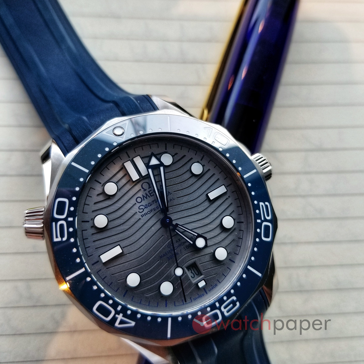Omega Seamaster Diver 300m A Week On The Wrist Watchpaper