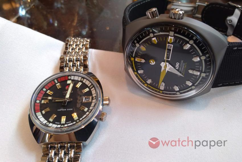 Rado Tradition Captain Cook MKII and MKIII