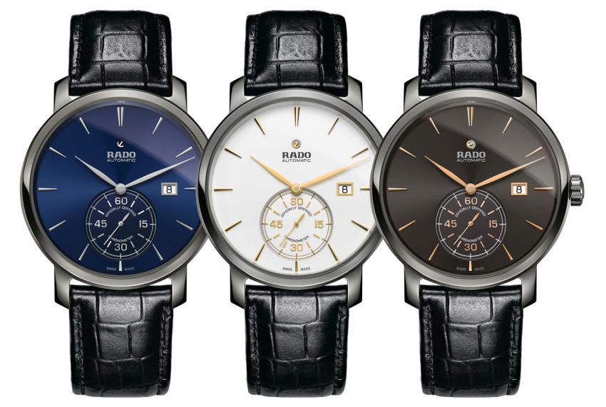 Rado DiaMaster Petite Seconde COSC collection