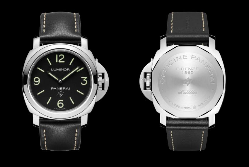 Panerai Luminor Base Logo 3 Days Acciaio - 44mm - PAM00773