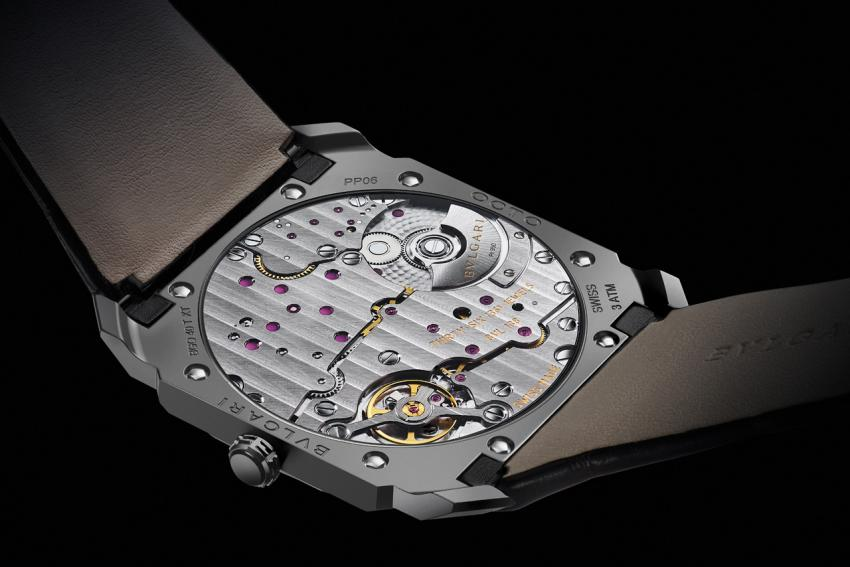 The back of the Bulgari Octo Finissimo