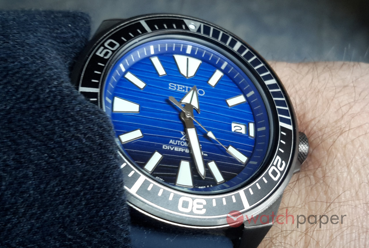 Seiko Prospex Save The Ocean Samurai 200M SRPB09