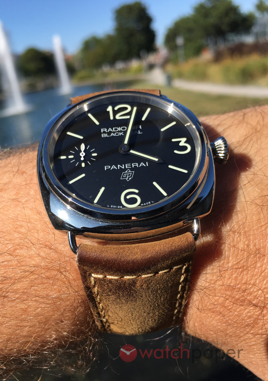 Officine Panerai Radiomir Black Seal Logo 3 PAM00754