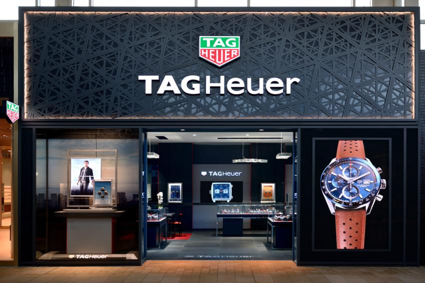 The TAG Heuer boutique at Yorkdale Shopping Centre