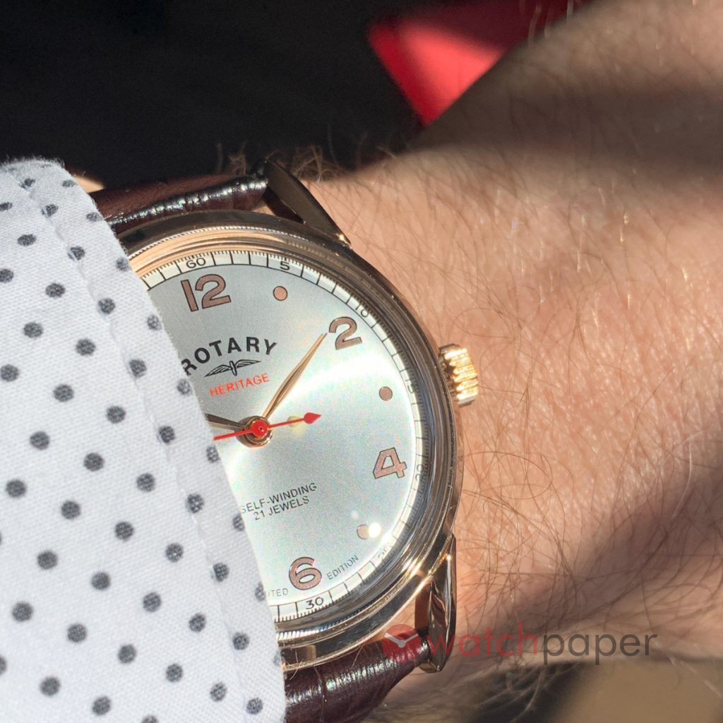 Rotary Heritage Rose Gold PVD