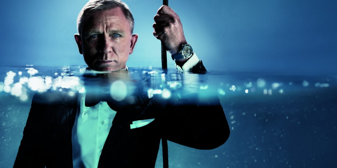Daniel Craig with OMEGA Seamaster Diver 300M