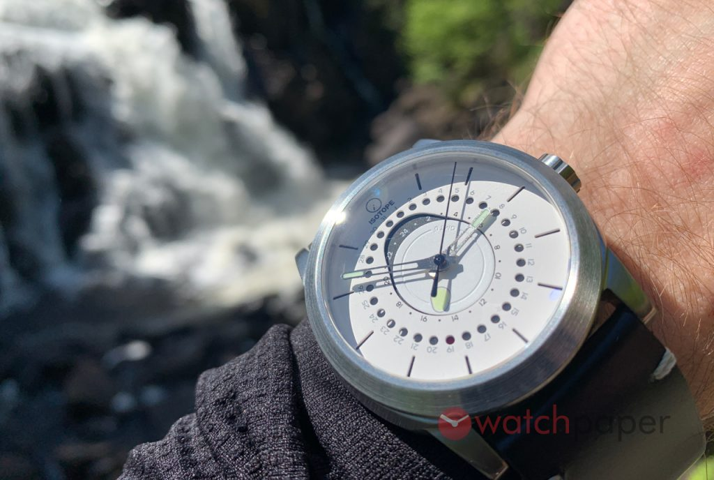 ISOTOPE GMT 0º  wrist shot